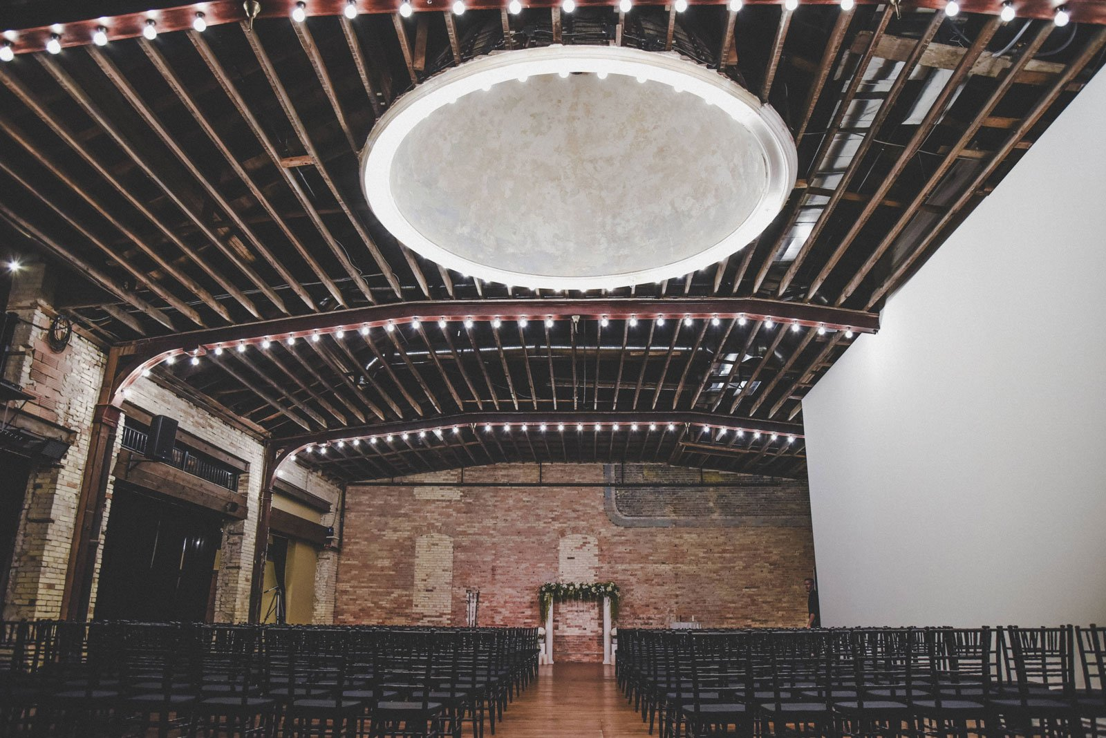 Harris-Build-set-up-for-a-wedding-ceremony